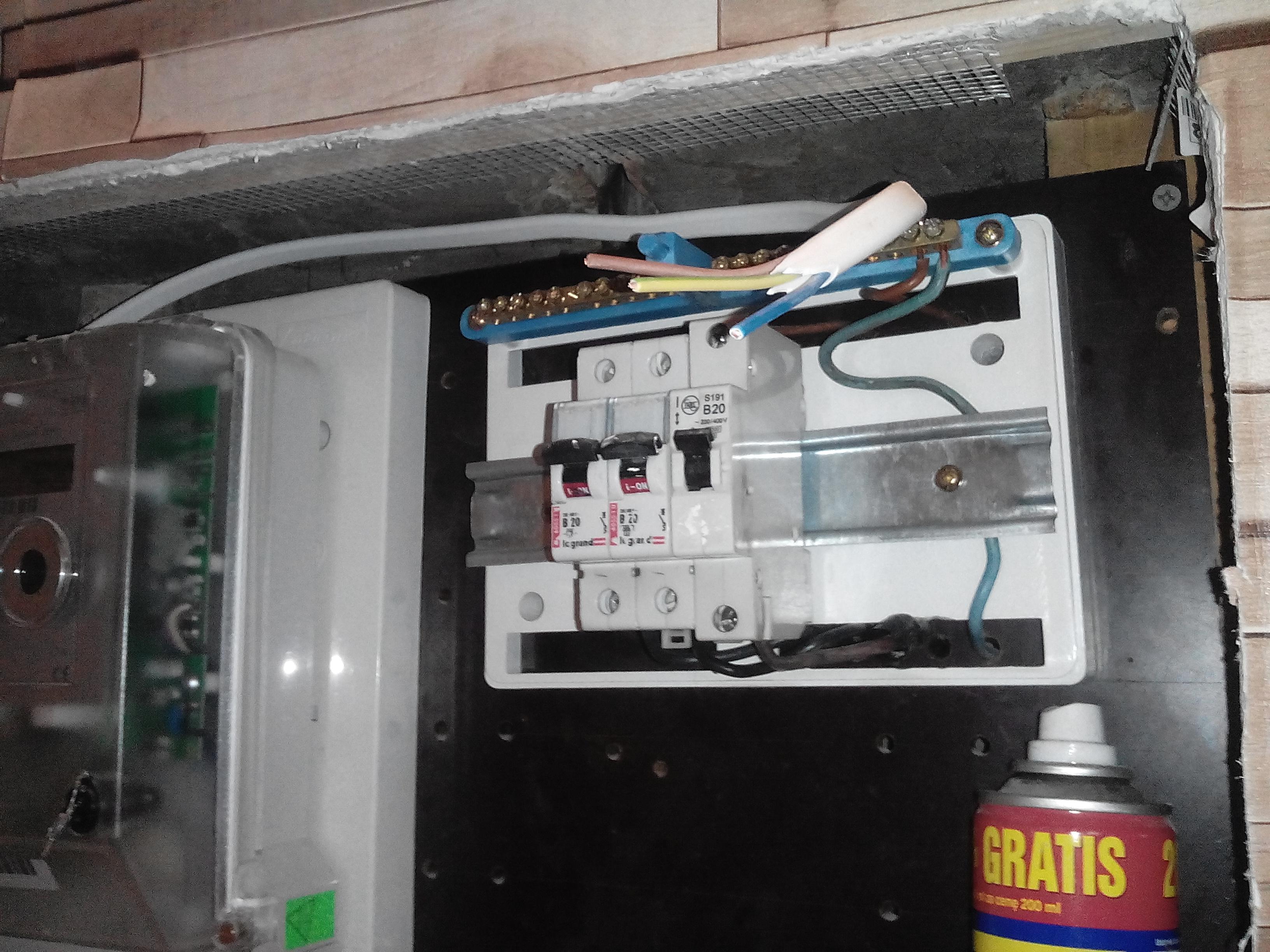 Podlaczenie pieca akumulacyjnego po bezpiecznik