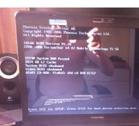 Toshiba Satellite A215 s4757 - Nie �aduje si� ani windows ani bios