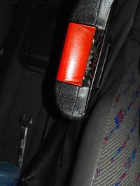 Opel Corsa B 96r. - Zapinka pasa kierowcy nie łapie