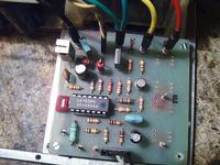 Podwójny zasilacz 0-36V 2A na LM 723.