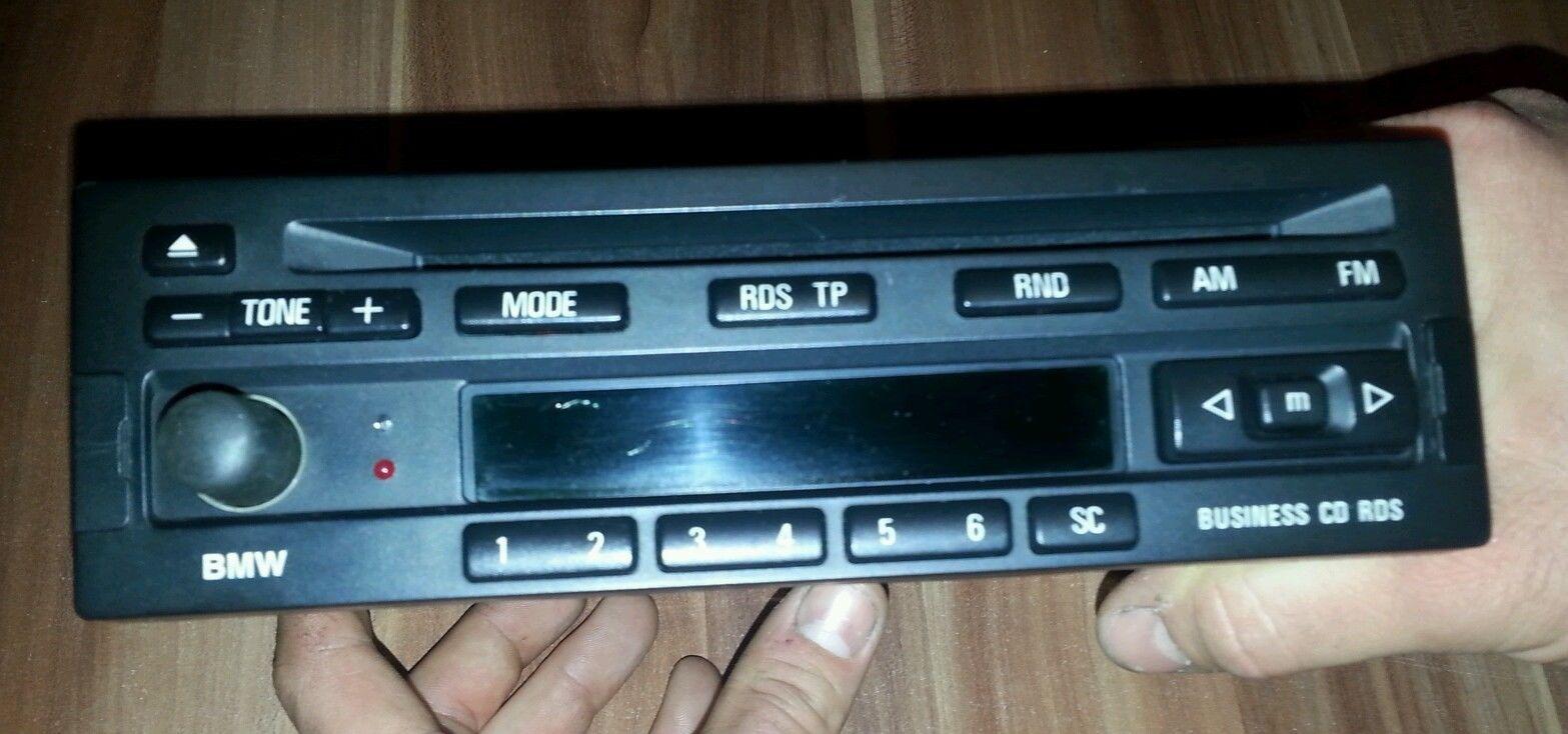 RADIO BMW BUSINESS CD23 - Nie wyszukuje stacji radiowych z RDS-em