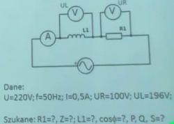 Zadanie z prądu przemiennego