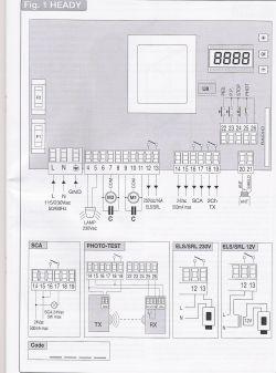 Centralka Beninca HEADY zaprogramowanie 2 przycisku pilota na wyj. ELS/SRL