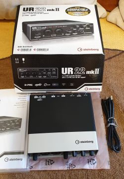 [Sprzedam] Karta USB Steinberg UR22MK2 UR22MKII 24-bit 192kHz