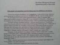 Egzamin zawodowy potwierdzajacy kwalifikacje zawodowe (stary) technik elektryk