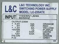 Zasilacz LC-235ATX jak uzyskać 12V