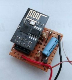Dzwonek do drzwi z obsługą MQTT i Google na ESP-01