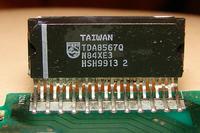 jvc ks-fx833r - Jak podłączyć mp3 do radia samochodowego. TDA8567q