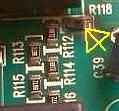 Electrolux EDH97981W - warto�� R118 na p�ycie falownika ELEW011
