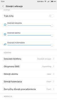 Xiaomi Mi 5s plus - Brak dźwięku sms.