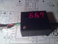 Wskaźnik -próbnik częstotliwości do 1GHz.
