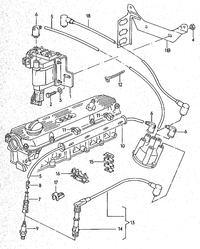 Audi 100/200 C3 2,2t - wymiana cewki zap�onowej na inn�