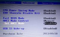 Samsung NP270E5E - ACPI BIOS Error podczas startu, nie działa F2