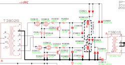 Samsung LELE32E420 - BN44-00468A wartości kilku elementów (lub schemat)