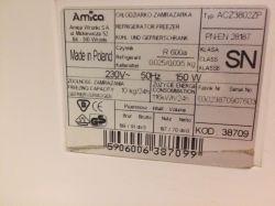 Amica ACZ3802ZP - działa lodówka, zamrażarka nie działa