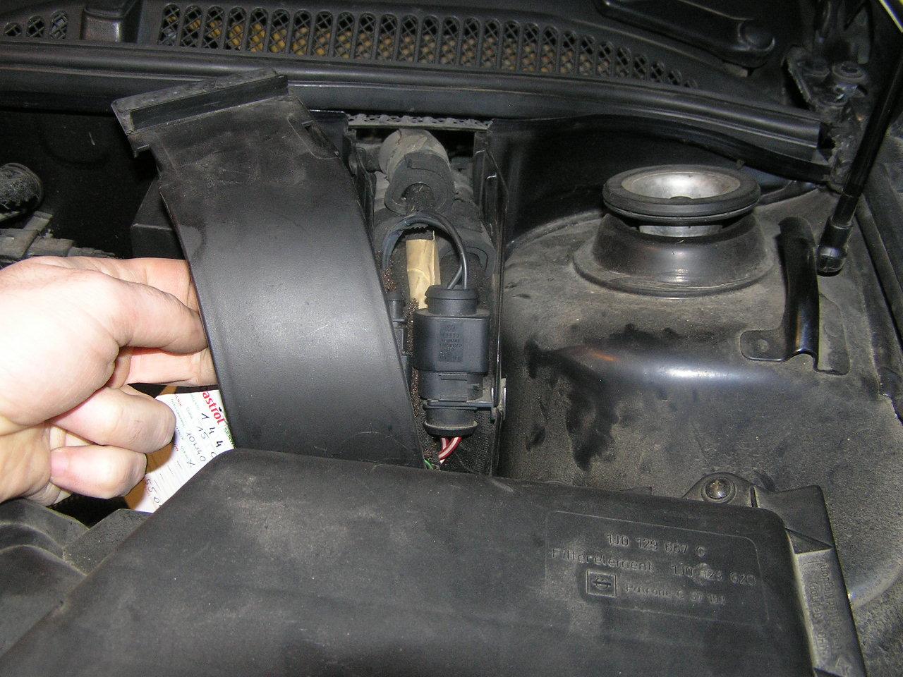 Audi A3 1,9 TDI 1998r. - Pod��czenie �wiate� do jazdy dziennej