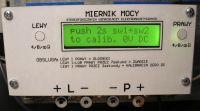 (IREK) Miernik mocy wzmacniaczy elektroakustycznych