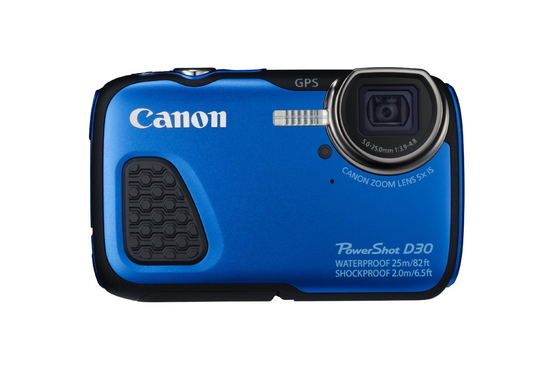 Canon D30 - kompaktowy aparat fotograficzny w wodoodpornej obudowie
