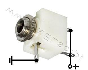 Interkom kablowy na LM386L.