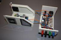 Obudowa własnej konstrukcji z tworzyw sztucznych, frezowanych na CNC