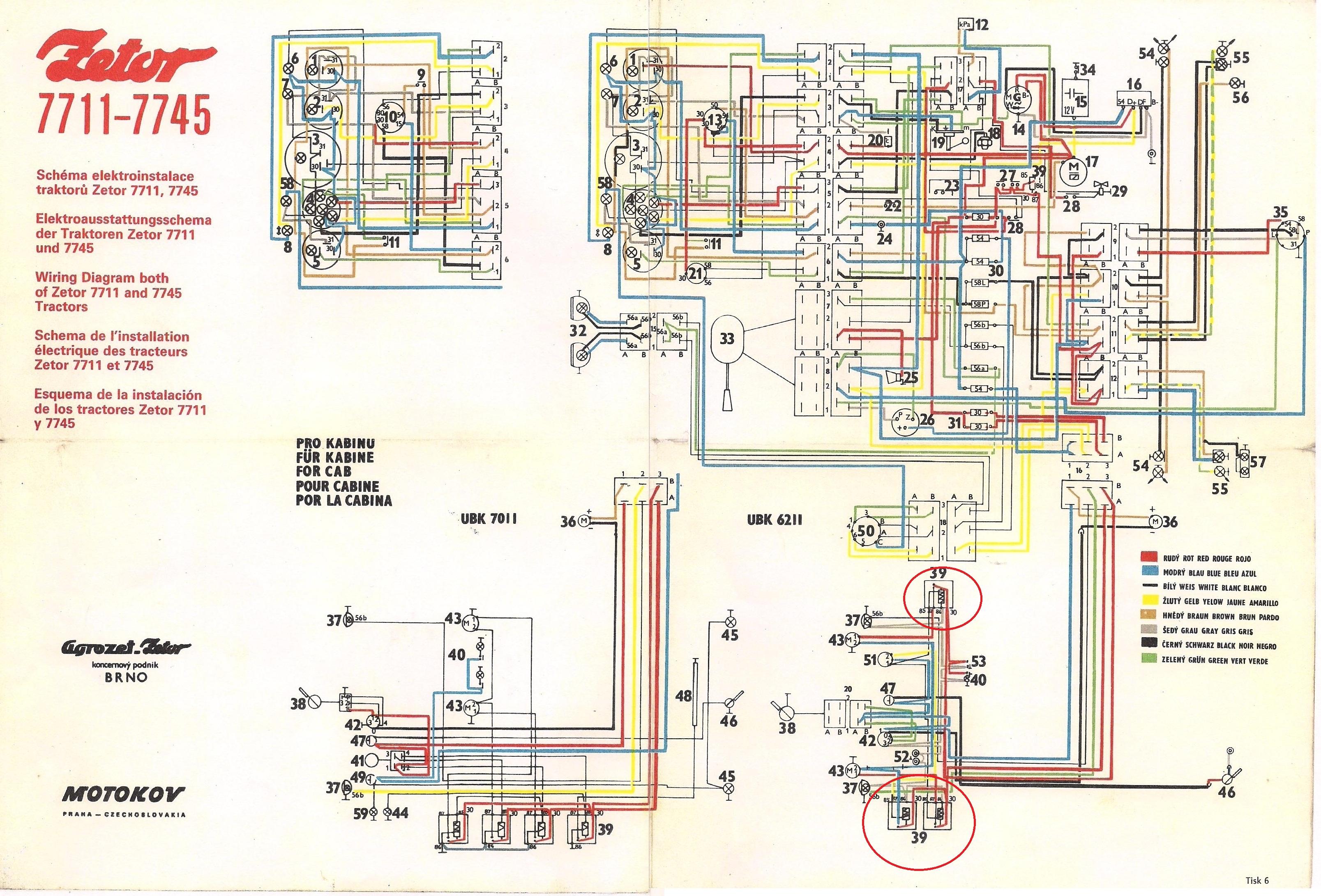 Wiring Diagram Zetor 5211 Best Secret Tractor Forum 12045