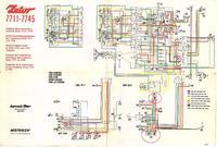 Schematy instalacji elektrycznej Zetorów