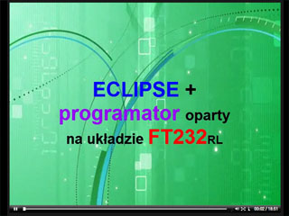 ECLIPSE + programator AVR oparty na FT232RL