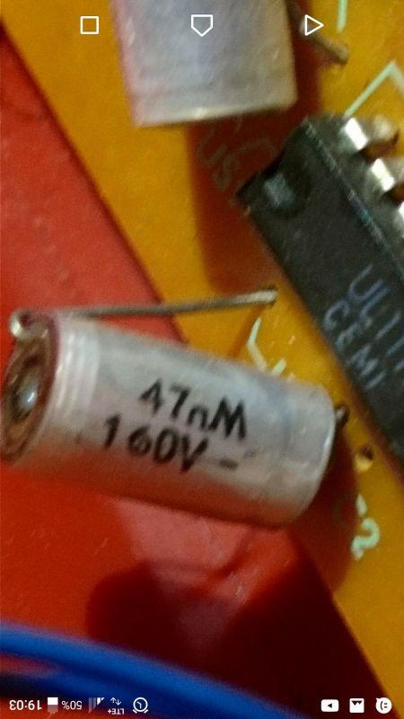 zamiennik kondensatora 47 nM 160V