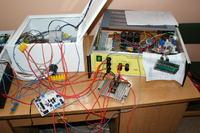 Impulsowy regulator mocy małej elektrowni wiatrowej