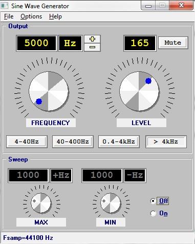 Generator sygnału sinusoidalnego