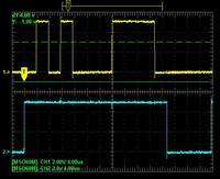 LCD HD44780 - Miganie ekranu podczas przesuwania