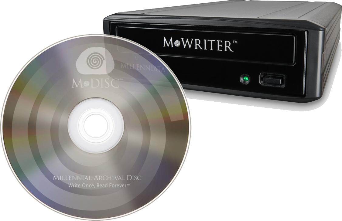 M-Disc DVD - kompatyblny z DVD no�nik o trwa�o�ci 1000 lat w cenie oko�o 9 z�
