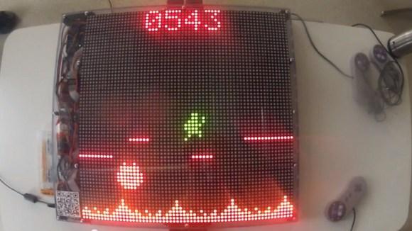 Wy�wietlacz LED jako ekran do gry