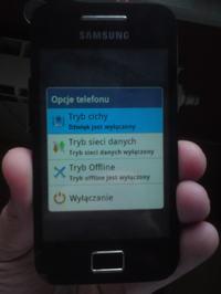 Samsung Galaxy Ace s5830 dotyk/przyciski/wielka niewiadoma