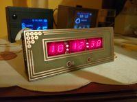 Zegarek vintage na wyświetlaczach VQB71