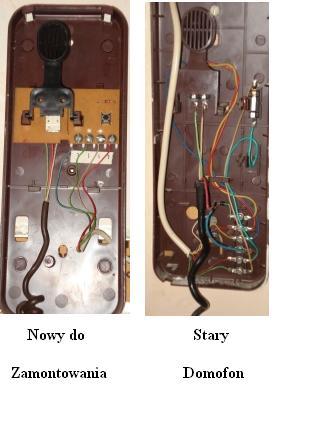 domofon 6-cio przewodowy; jak podłączyć?