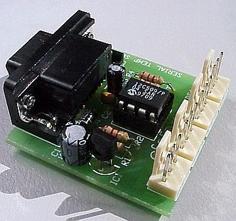 Obsługa czterech czujników temperatury