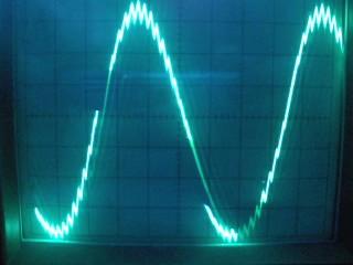Generacja sinusa za pomocą PWM - atmega