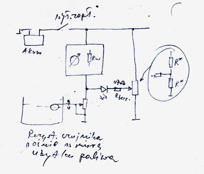 Jak wykonać prosty czujnik, na jednej diodzie LED ?