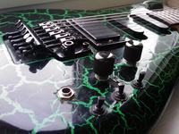 Gitara elektryczna Aria - problem (odtworzenie elektroniki)