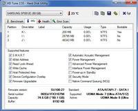 Ratowanie plików z uszkodzonego dysku SAMSUNG SP0812C
