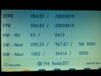 Jak rozpoznać wersję nawigacji VW MFD
