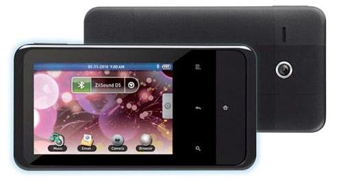 Creative przedstawia odtwarzacz Zen Touch 2 PMP z Android'em