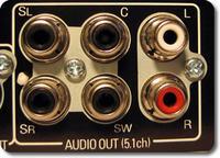 Thomson 48FU4243 złącza audio