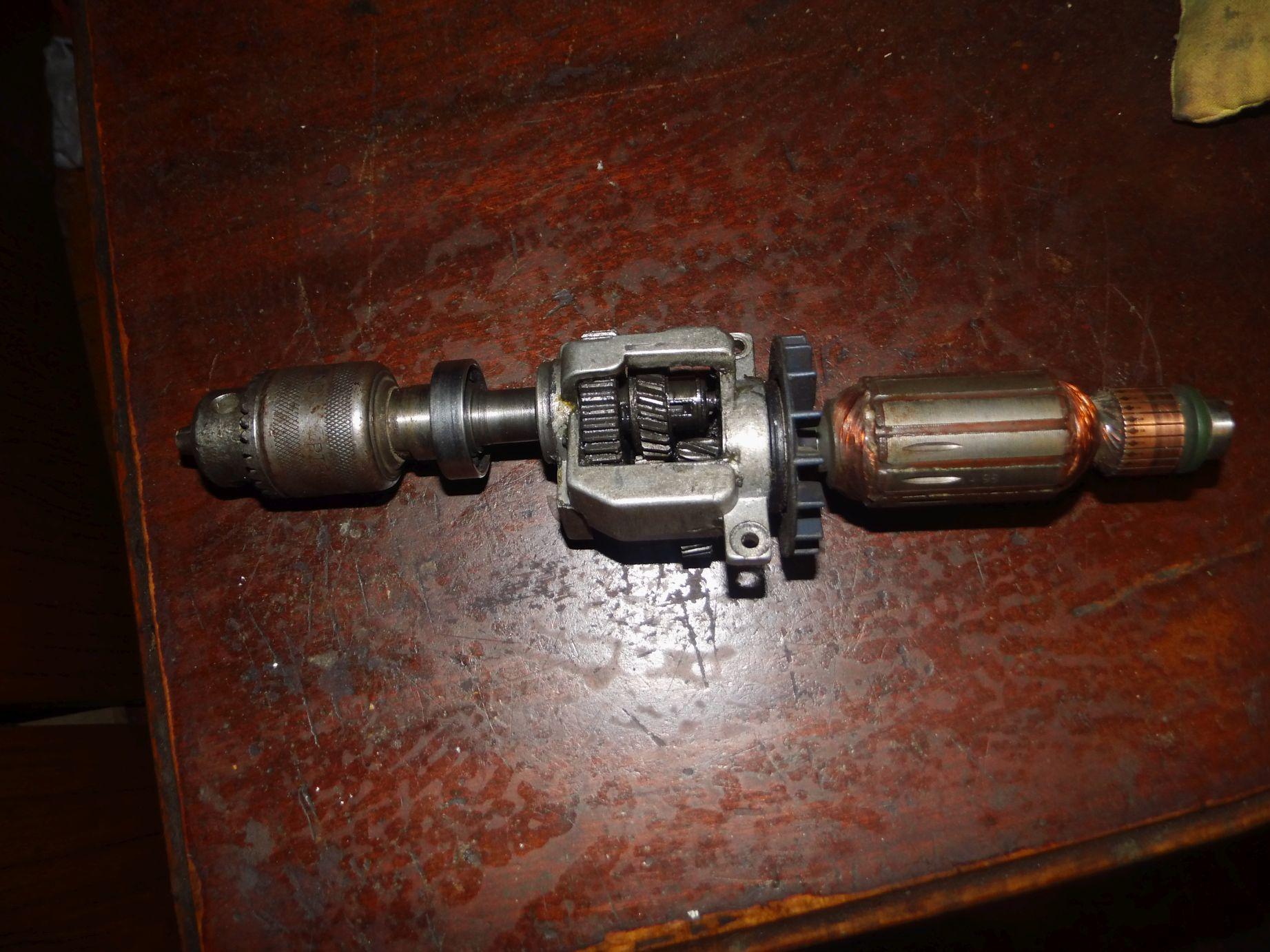 CELMA PRCR 10/6 b - Rozebranie wirnika