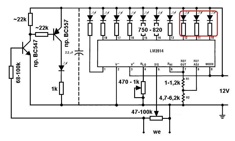 Wskazaniu napi�cia akumulatora jako wska�nik poziomu paliwa