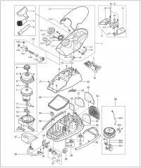 Odkurzacz Samsung TC-9015VP - jak rozebrać?