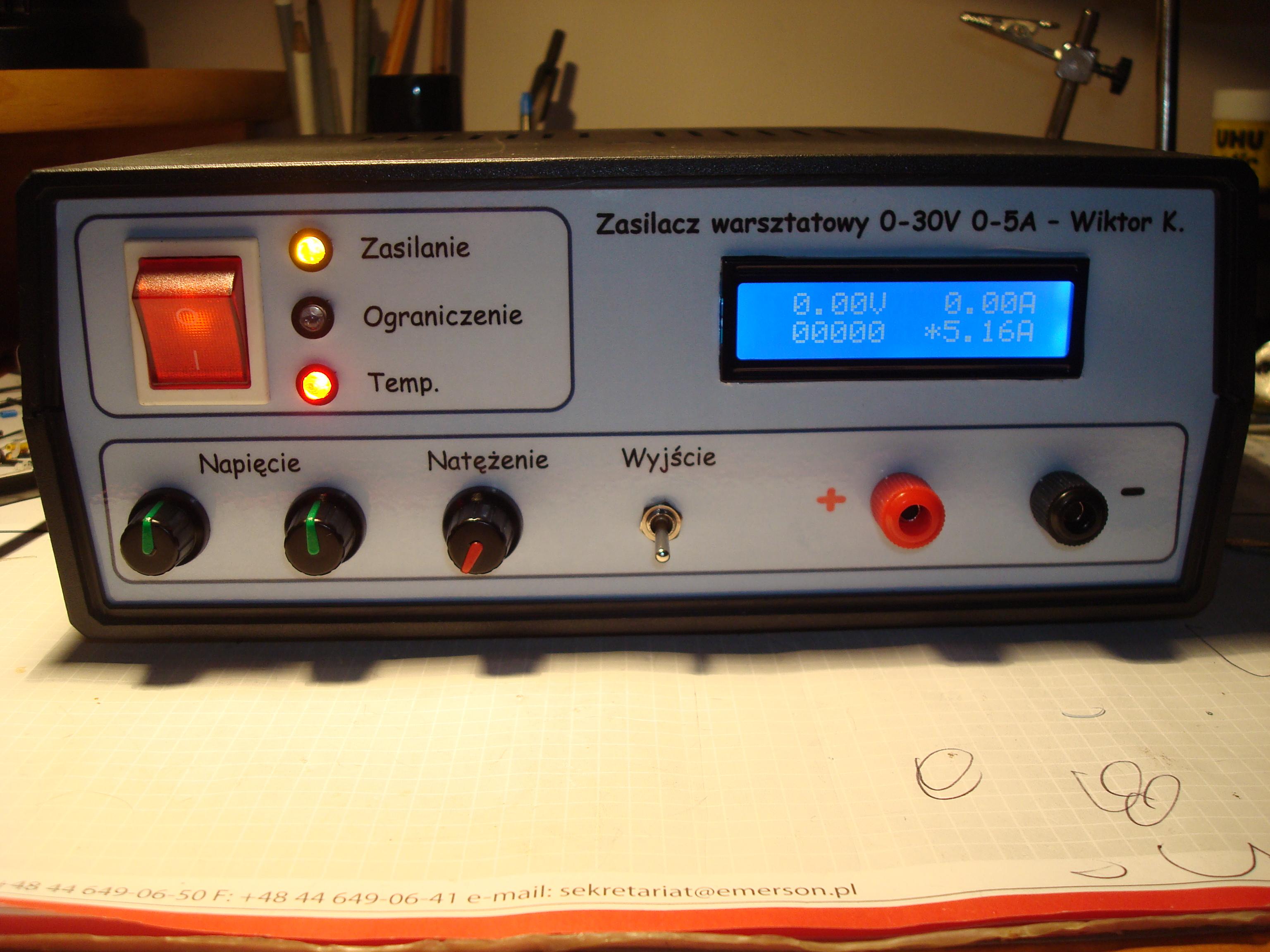 Zasilacz 30V 5A by Kaeltaz