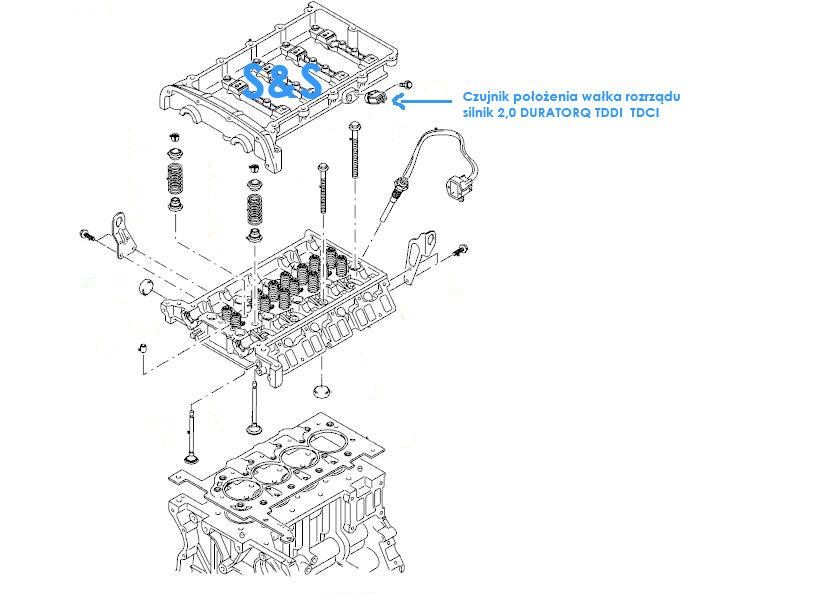 Ford Mondeo MK3 2003 2.0TDCI 115km, migaj�ca spr�ynka