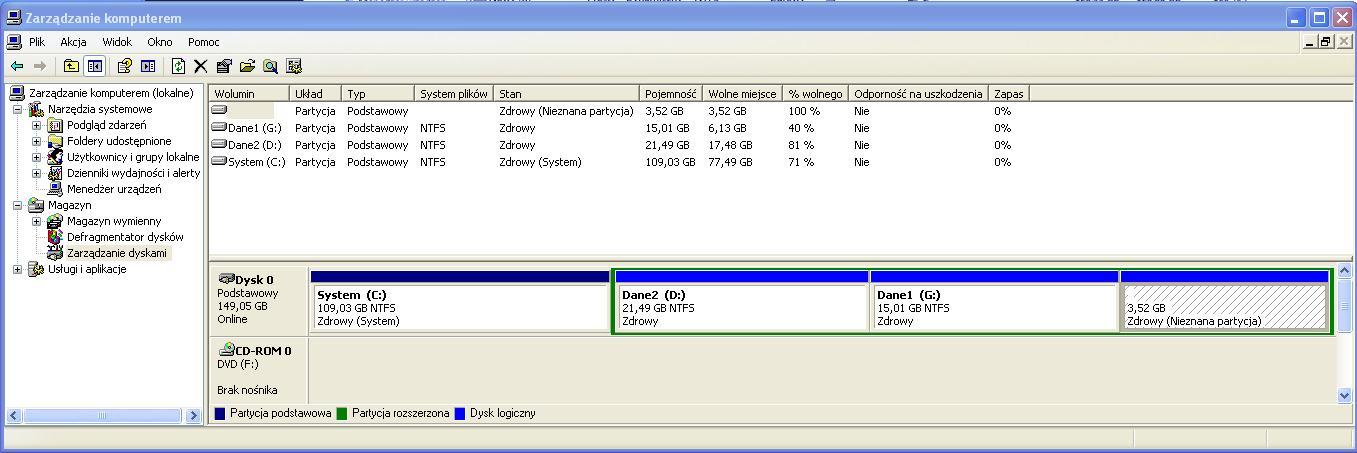 Windows 7 Prof. 64-bit i Server 2008 R2 - dysk dynamiczny, VHD, instalacja